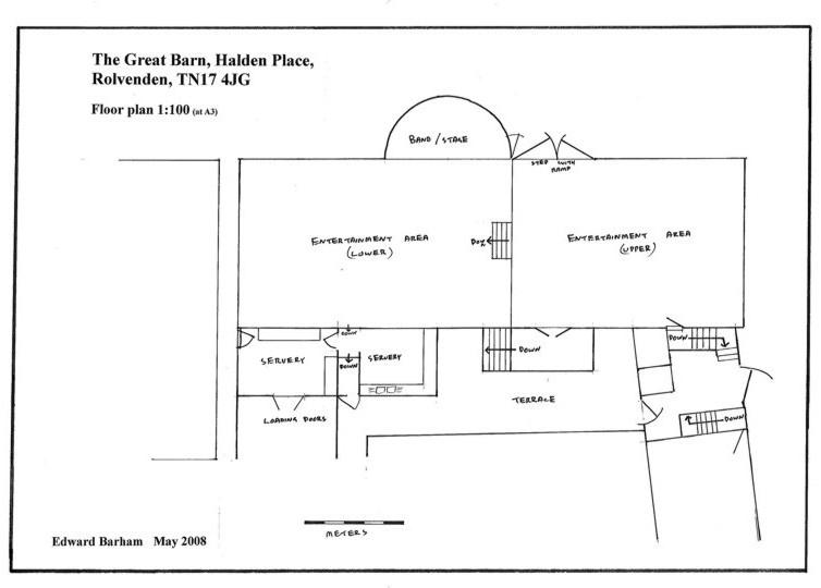 The Great Barn Floor Plan